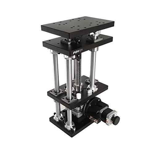 X-xyA Motorizado Lab Tijeras Jack, De 180 mm × 120 mm Eje Z Lab Jack, Elevación De Precisión Óptica Eléctrico Plataforma, Soporte Peso 50 Kg