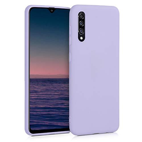 kwmobile Custodia Compatibile con Samsung Galaxy A30s - Cover in Silicone TPU - Back Case per Smartphone - Protezione Gommata Lavanda