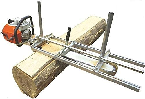 TTF Chainsaw Mill Portable 14 to 36 Inch Planking Milling Bar Size Cutting Chain Sawmill Attachment 304 Stainless Steel