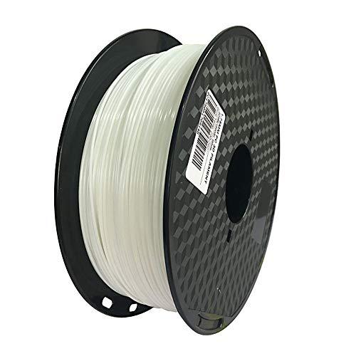 Filamento blanco de policarbonato de 1,75 mm para impresora 3D, filamento de policarbonato (blanco), material de impresión de 1 kg de Spool-PC (blanco)