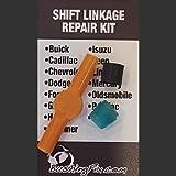 BushingFix Si2Kit - Replacement Automatic Transmission Shift Cable Bushing and Repair Kit