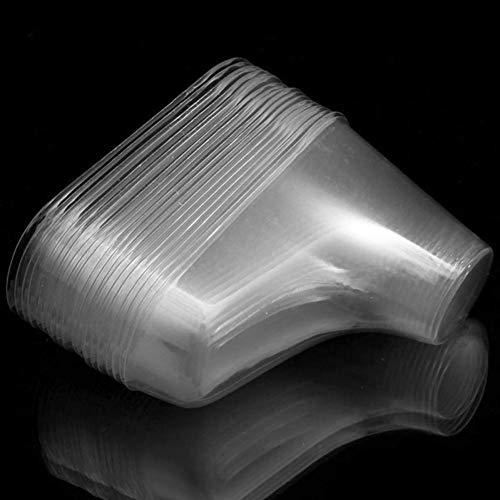 20pcs De Plástico del Pie Modelo, Calcetín Moldes Pegar La Pasta De Azúcar del Bebé Botines del Molde De Extrusión De Visualización Regalo, 8cm