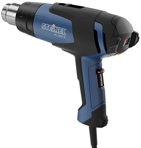 Steinel HL1920 E - Hot Air Gun 2000 Watts - 3 Airflow Speeds & Temperature Range from 80-600 C °- High Precision Heat Gun for Crafts & Paint Stripping