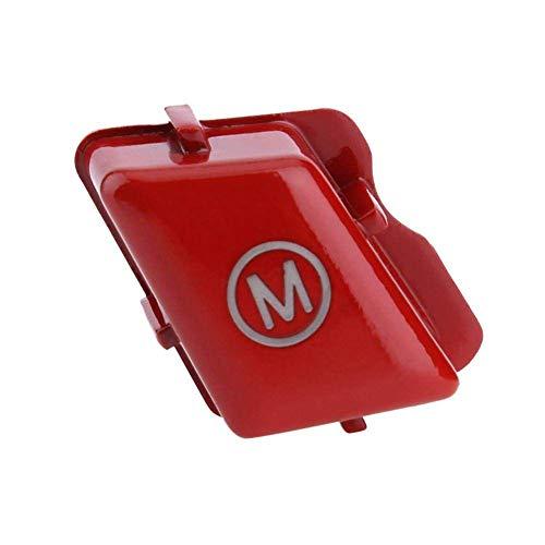 TOOGOO Encendido del Volante Interruptor De Pulsador Botón De Cambio De Modo Dinámico Botón De Movimiento para Serie M para BMW E90 E92 E93