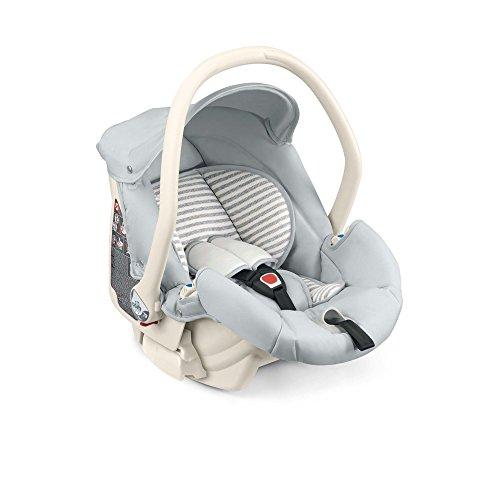 CAM der Welt des Kindes S138Area Zero + Kindersitz Auto, gestreift, Grau