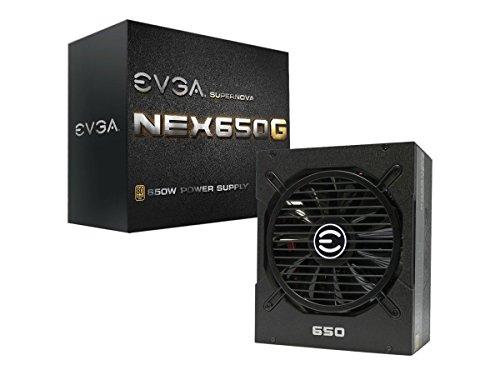 EVGA SuperNOVA 650 G1, 80+ GOLD 650W, Fully Modular, 10 Year Warranty, Includes FREE Power On...