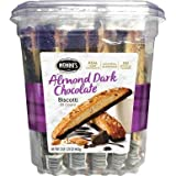 Nonni's Almond Dark Chocolate 25ct Biscotti With Real Almonds