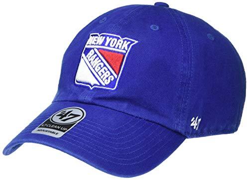 '47 Unisex Clean Up Baseball Cap, Violett (Royal - Rangers Royal - Rangers), One Size