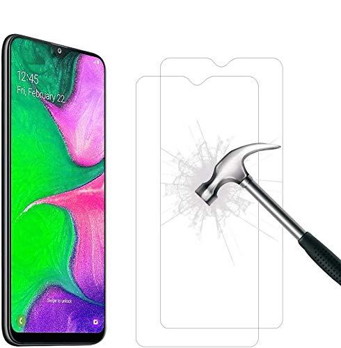 【2枚セット】for Samsung Galaxy A20 SC-02M SCV46 ガラスフィルム【2021先端技術】Galaxy A20 強化ガラス保護フィルム 9Dラウンドエッジ加工 全面保護ガラスフィルム 液晶 画面 滑らか 感度 良好 完全な表面