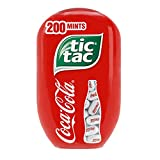 Tic Tac Coca Cola Fresh Breath Mints, Bulk Hard Candy Mints, 3.4 oz, 8 Count Bottle Packs, Perfect Easter Basket Stuffers for Boys and Girls