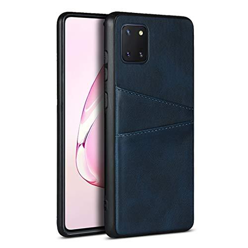 PU-Hülle für Samsung Galaxy Note 10 Lite (Blau)