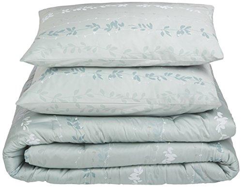 Calvin Klein Home Nightingale Comforter Set, Queen, Sea Mist