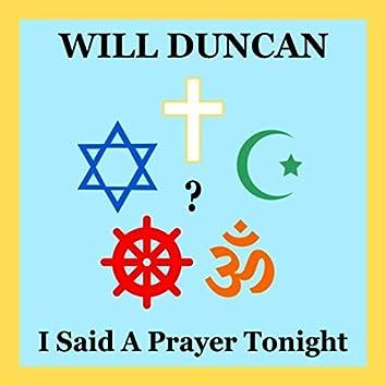 I Said a Prayer Tonight