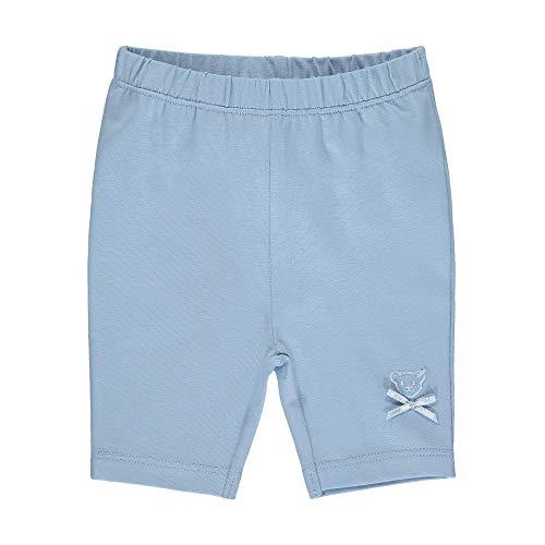 Steiff Baby-Mädchen Leggings, Blau (Forever Blue 6027), 68 (Herstellergröße: 068)