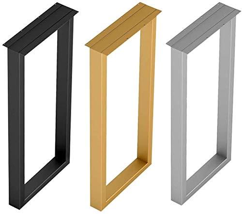 Patas de mesa de metal X1, Patas de soporte de repuesto para mesa de comedor y barra de bar, Accesorios para muebles de bricolaje, Altura 70 cm / 100 cm (Color: Dorado, Tamaño: 40X100CM (una pieza))