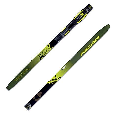 FISCHER Langlaufskier Twin Skin Cruiser inkl. Bindung Black (85) XL