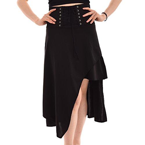 blessume Punk falda negro -  negro - (Ropa)