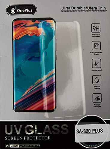 One + - Samsung - Cristal Templado Negro Para El S20 Plus...