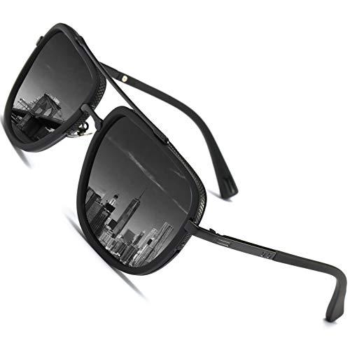 SHEEN KELLY Retro Männer polarisierenden sonnenbrillen piloten Platz der metallische Gläser Sonnenbrillen UV400