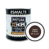 Pintura color Tabaco Interior / Exterior / Multisuperfie para azulejos baño cocina , madera, puertas, metal, radiadores, muebles, ceramica / Esmalte sintentico en 375 ml / RAL 8017