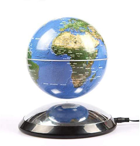 JYKFJ Globo Flotante de levitación magnética Creativa de 6 Pulgadas Mapa del Mundo La Mejor Empresa de decoración de Escritorio