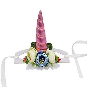Chen0-super pour Chien ou Chat en Forme de Licorne décoratifs Chapeau Halloween pour Animal Domestique Casquette Halloween Vacances pour Animal Domestique Accessoire de Costume