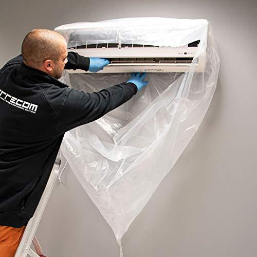 ERRECOM Wally - Cover di Protezione per la Pulizia e la Sanificazione dei Climatizzatori Mini-Split