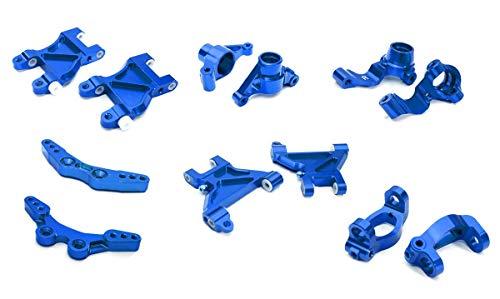 Integy RC Model Hop-ups C28630BLUE Billet Machined Suspension Kit for Tamiya 1/10 M-07