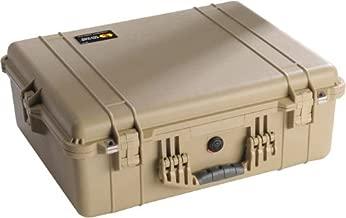 Pelican 1600 - Case 21.43X16.5X7.87In Tan No Fm