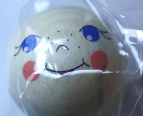 EFCO pop hoofd figuur, hout, bruin, 50 mm