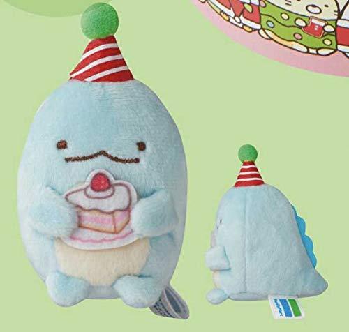 すみっコぐらし かざって楽しいクリスマスケーキ2020 ファミリーマートオリジナルてのりぬいぐるみ とかげ すみっこぐらし ファミマ