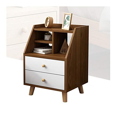 Modern nachtkastje van hout met lade voor het opbergen van kasten, mini-bureau, slaapkamer