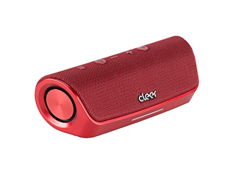 Portable Wireless Bluetooth Speaker, Take Calls with Noise Cancellation, Alexa Enabled, Water-Resistant, 15 Hours Battery   Cleer Audio - Stage
