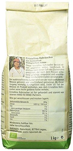 Rapunzel Cristallino Bio Rohrzucker, (3 x 1 kg) - 2