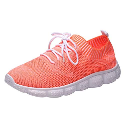 Cebbay Sneakers Homme Baskets, Chaussures légères tissées Respirantes de Grande Taille, Chaussettes Basses décontractées Shoes 39-46