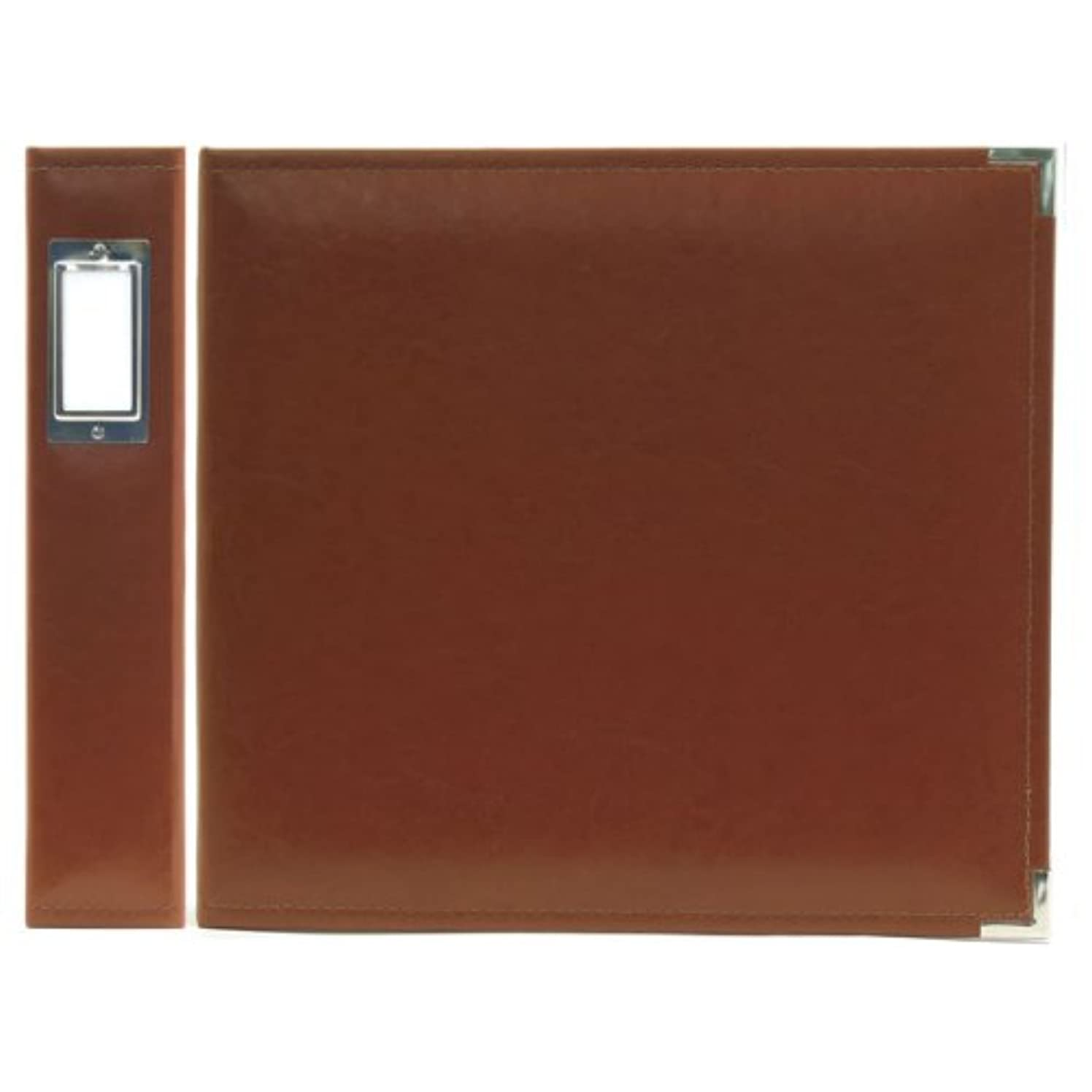 We R Memory Keepers Classic Leather 3-Ring Binder Album, 12 by 12-Inch, Dark Chocolate