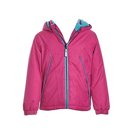 Outburst - Mädchen Jacke Anorak Winterjacke Kapuzenjacke mit Fleece, pink - 6819001, Größe 128