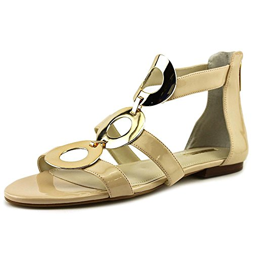 BCBGeneration Faroh Embellished Sandals Nude Blush 6