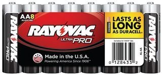 Branded Popular shop is the lowest price challenge goods RAYOVAC AL-AA NON-RECHARGEABLE BATTERY 5 AA 1.5V pieces
