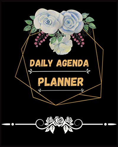 Daily Agenda Planner | Agenda 2021 Daily Planner with Notes:...