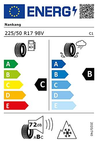 Nankang 53642 Neumático Aw-6 225/50 R17 98V para Turismo, Todas Las Temporadas