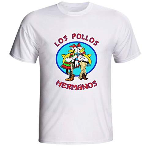 Camiseta Los Pollos Hermanos Logo Breaking Bad