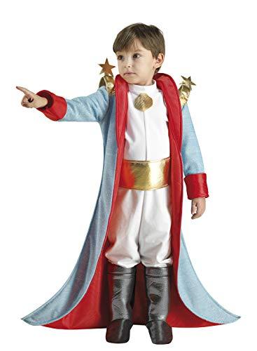 Clown Republic- Petit Prince Costume, Garçon, 09306/06, Blanc