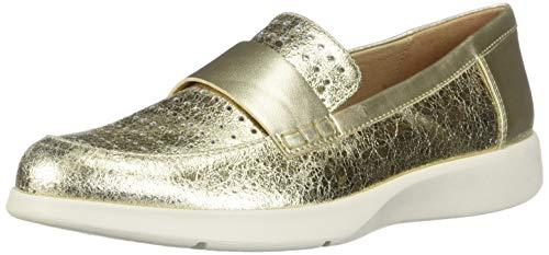 Geox Damen D ARJOLA E Slipper, Gold (Gold C2005), 36 EU
