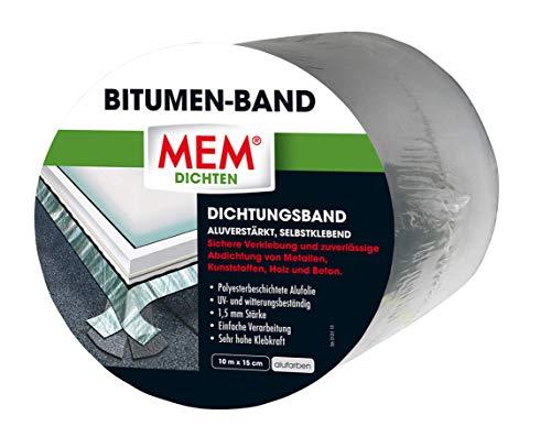 MEM Bitumen-Band alu 15 cm x 10 m