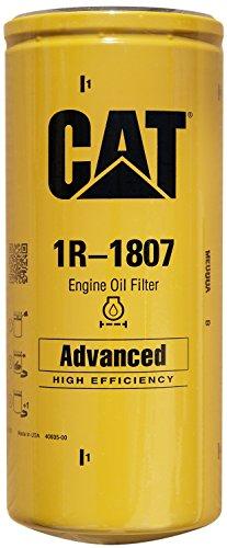Caterpillar 1R-1807 Advanced High Efficiency Oil Filter (Pack of 3)