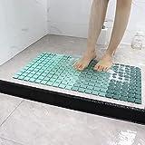 Best Mildew Resistant Shower Mats - Exdtgt Nonslip Bath Shower Mats for Seniors/Kids' Bathtub Review