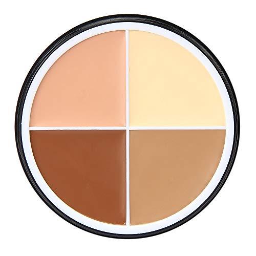 Camouflage 4 couleurs crème visage poudre pro contour Correcteur quatre CATHYOYO