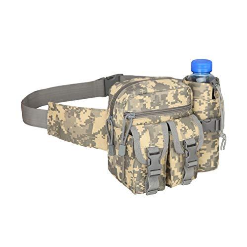 Satchel, Waist Bag, Leg Bag Waterproof Nylon Men's Waist Bag Mountaineering Outdoor Camping Single Shoulder Strap Belt (Color : L, Size : Medium)
