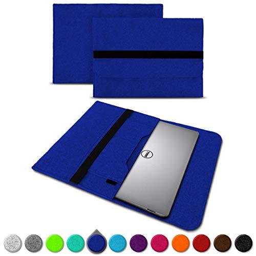 UC-Express Sleeve Hülle für Dell XPS 13 9380 9370 9360 9365 Tasche Filz Notebook Cover Laptop Hülle 13,3 Zoll Schutzhülle, Farben:Blau